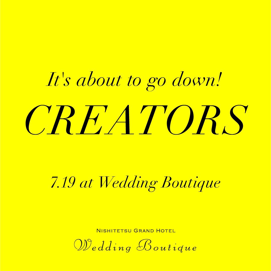 CREATORS Pop Up